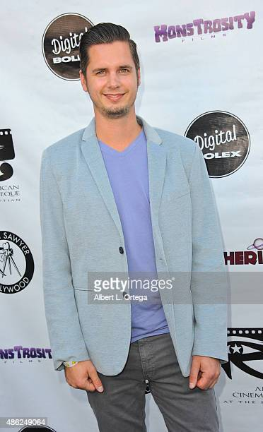 Cinematographer Luke Bramley arrives for the Etheria Film Night 2015 held at American Cinematheque's Egyptian Theatre on June 13, 2015 in Hollywood,...