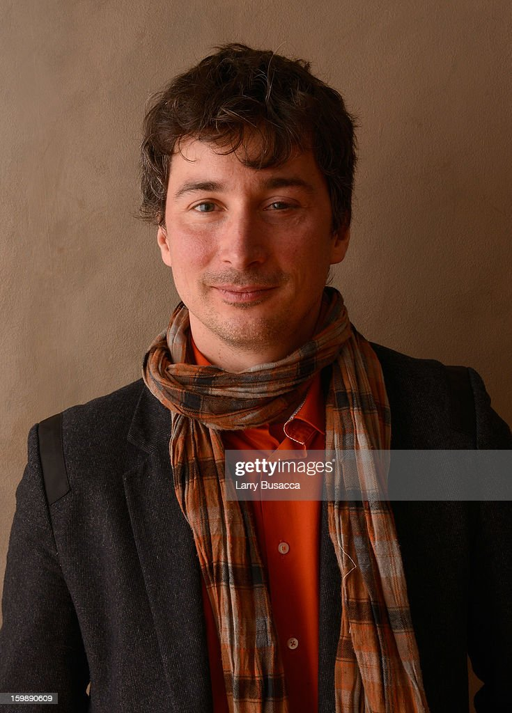 Cinematographer Matthias Grunsky poses for a portrait during the 2013 Sundance Film Festival at the Getty Images Portrait Studio at Village at the Lift on January 22, 2013 in Park City, Utah.