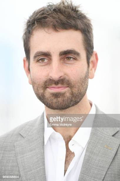 Cinematographer Mike Gioulakis attends Under The Silver Lake Photocall during the 71st annual Cannes Film Festival at Palais des Festivals on May 16...