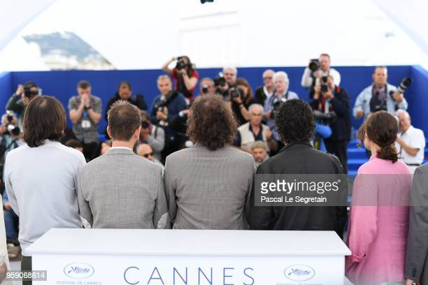 Cinematographer Mike Gioulakis director David Robert Mitchell film editor Julio Perez IV composer Rich Vreeland and producer Adele Romanski attends...