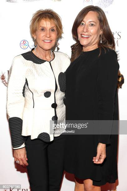 Cinematographer Nancy Schreiber and director Amy Glazer attend the Kepler's Dream premiere at Regency Plant 16 on November 30 2017 in Van Nuys...