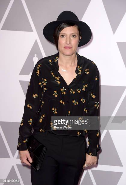 Cinematographer Rachel Morrison attends the 90th Annual Academy Awards Nominee Luncheon at The Beverly Hilton Hotel on February 5 2018 in Beverly...