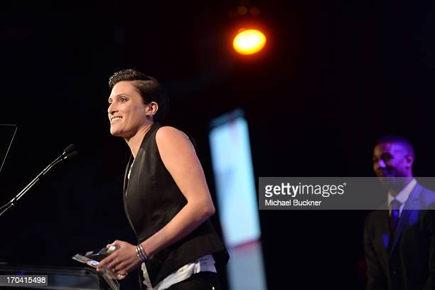Cinematographer Rachel Morrison attends Women In Film's 2013 Crystal Lucy Awards at The Beverly Hilton Hotel on June 12 2013 in Beverly Hills...
