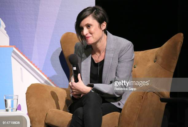Cinematographer Rachel Morrison speaks onstage at the Variety Artisan's Awards during The 33rd Santa Barbara International Film Festival at Lobero...