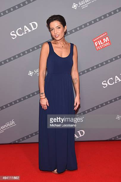 """Cinematographer Reed Morano attends the opening night screening of """"Suffragette"""" during 18th Annual Savannah Film Festival Presented by SCAD at..."""