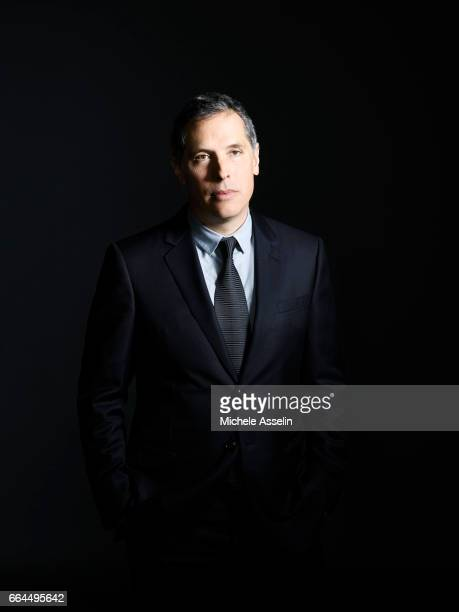 Cinematographer Rodrigo Prieto are photogrpahed for Time Magazine on January 6, 2017 in Los Angeles, California.