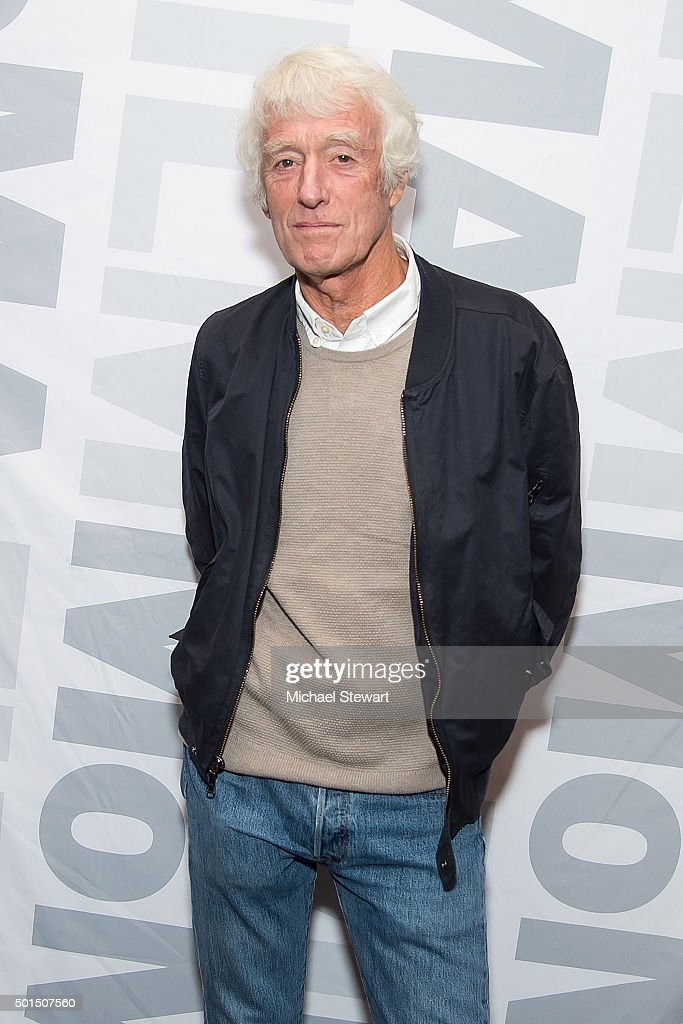 Cinematographer Roger Deakins attends the 'Sicario' New York screening at Museum of Modern Art on December 15, 2015 in New York City.