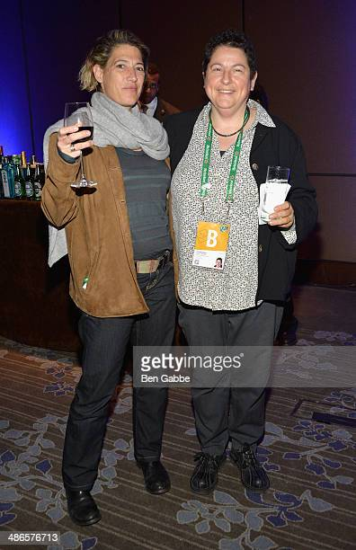 Cinematographer Sophie Constantinou and producer and director Nancy Kates of Regarding Susan Sontag attend the TFF Awards Night during the 2014...