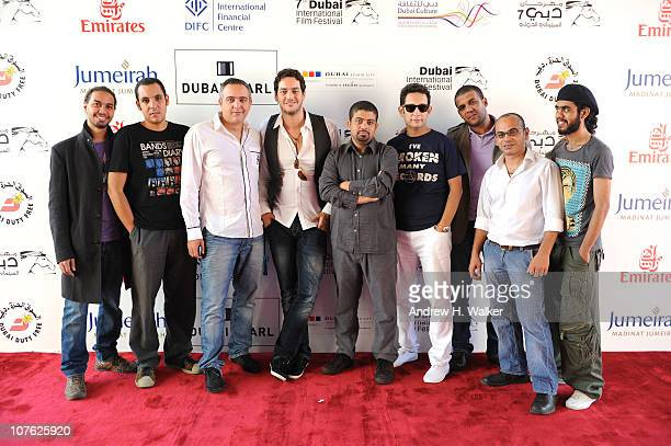 Cinematographer Tarek Hefny Ayman Ossama producer Mohamed Hefzy actor Khaled Abu El Naga director Ahmad Abdalla Ahmed Hafez Mahmoud Siam guitarist...