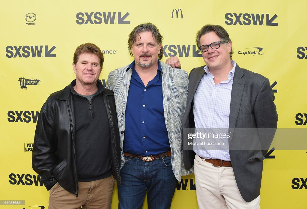 Cinematographer Todd McMullen and co-Directors Alex Smith and Andrew J. Smith attend the 'Walking Out' premiere during 2017 SXSW Conference and Festivals at the ZACH Theatre on March 12, 2017 in Austin, Texas.