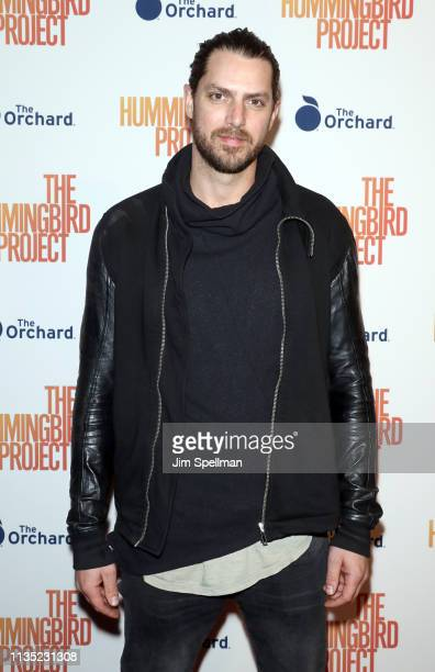 Cinematographer Zak Mulligan attends the The Hummingbird Project New York screening at Metrograph on March 11 2019 in New York City