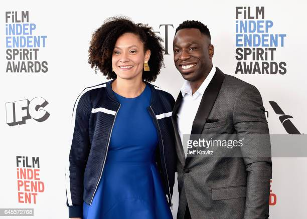 Cinematographers Kira Kelly and Hans Charles attend the 2017 Film Independent Spirit Awards at the Santa Monica Pier on February 25 2017 in Santa...