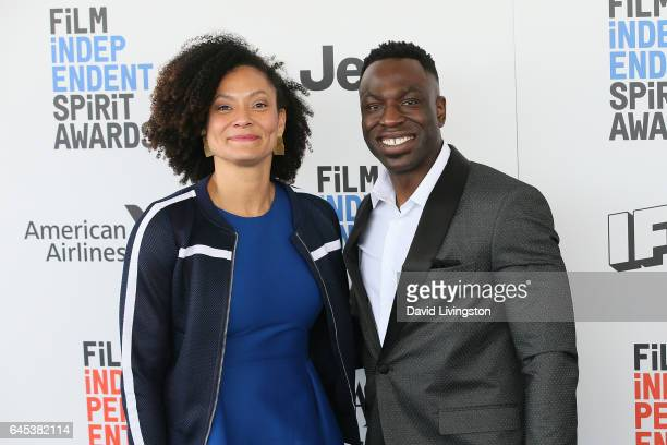 Cinematographers Kira Kelly and Hans Charles attend the 2017 Film Independent Spirit Awards on February 25 2017 in Santa Monica California