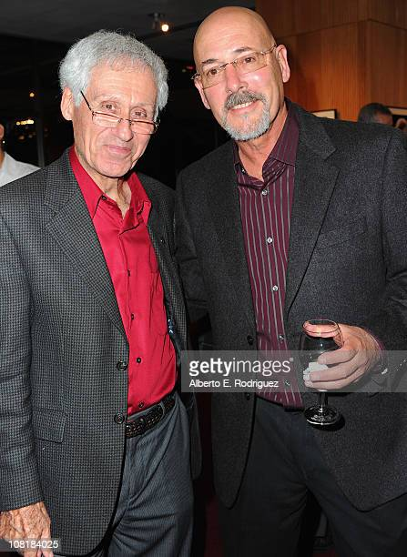 Cinematographers Wo and Dady Omens and Daniel Pearl attend the Academy of Motion Picture Arts and Sciences' Winter Exhibition opening reception on...