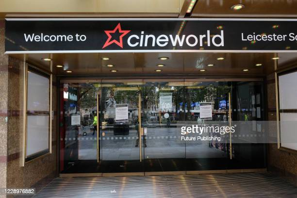 KINGDOM OCTOBER 09 2020 Cineworld cinemas are now closed until further notice until major films are released PHOTOGRAPH BY Matthew Chattle / Barcroft...