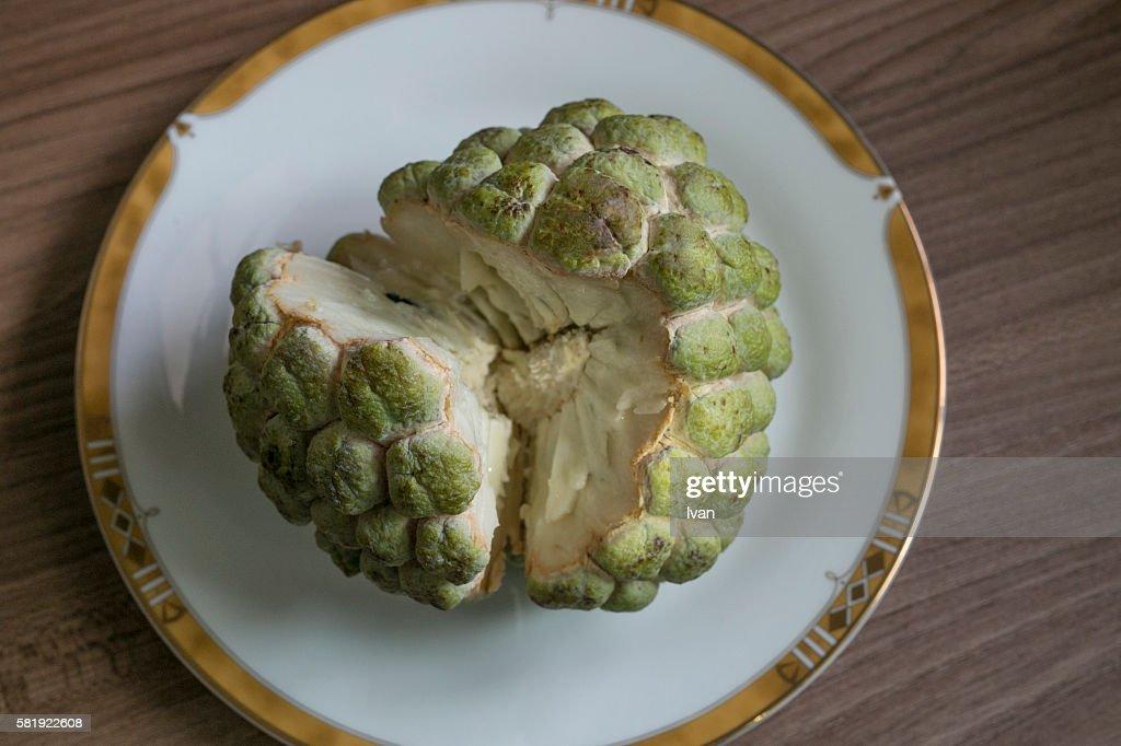 Cinnamon apple, buddha head fruit, Taidong, Taitung, Republic of China, Taiwan, Asia : Foto de stock
