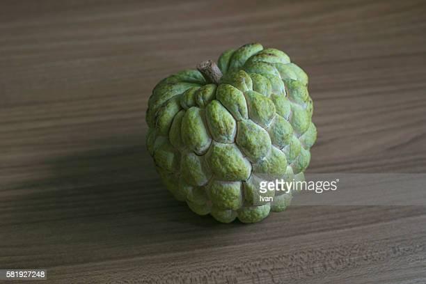 Cinnamon apple, buddha head fruit, Taidong, Taitung, Republic of China, Taiwan, Asia