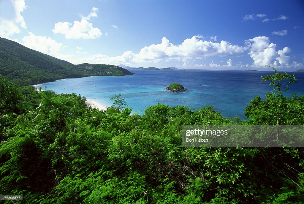 Cinnamon bay, virgin islands : Stock Photo