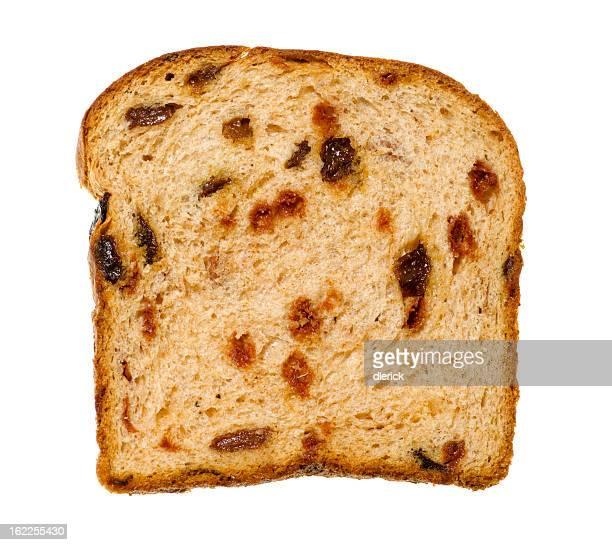 Cinnamon Raisin Bread Slice