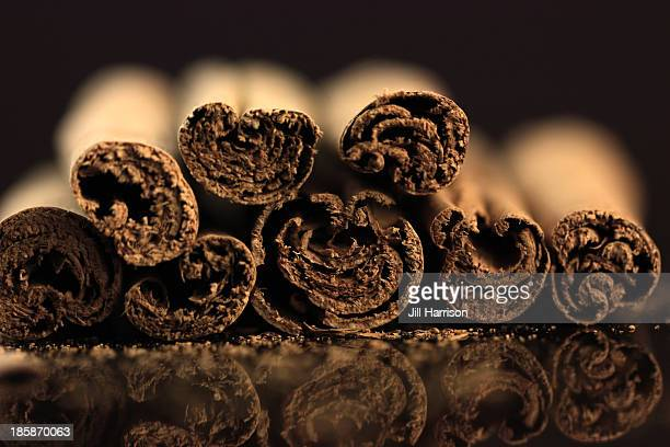 cinnamon sticks - jill harrison stock pictures, royalty-free photos & images