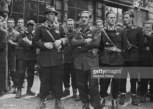 Cino Moscatelli At The Liberation Parade In Milan On May 1945