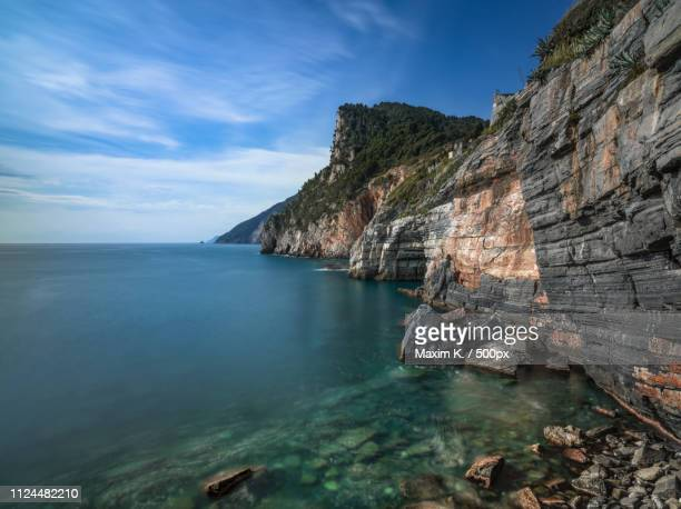 cinque terre. - mcway falls stock pictures, royalty-free photos & images