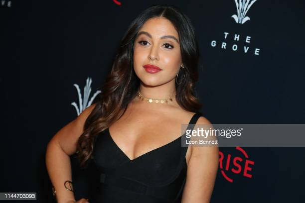 Cinthya Carmona attends FilmRise Citi And The Grove Host Overbrook Entertainment's And Mental Telepathy Pictures' Sprinter Premiere at Pacific...
