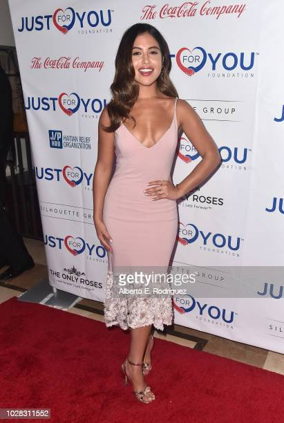 Cinthya Carmona attends Jason Derulo's Just For You Foundation's Inaugural Heart Of Haiti Gala on September 6 2018 in Beverly Hills California