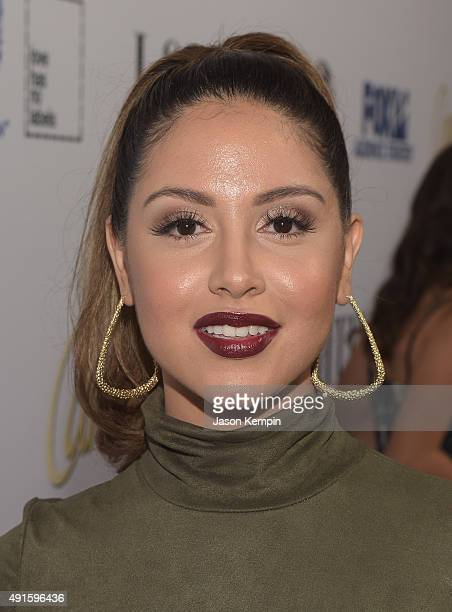 Cinthya Carmona attends the Latina Hot List Party hosted by Latina Media Ventures at The London West Hollywood on October 6 2015 in West Hollywood...