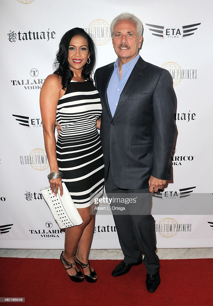 Cinthya Nurik and Marc Nurik arrive for the screening of 'Blunt Force Trauma' held at CAA on July 20, 2015 in Century City, California.