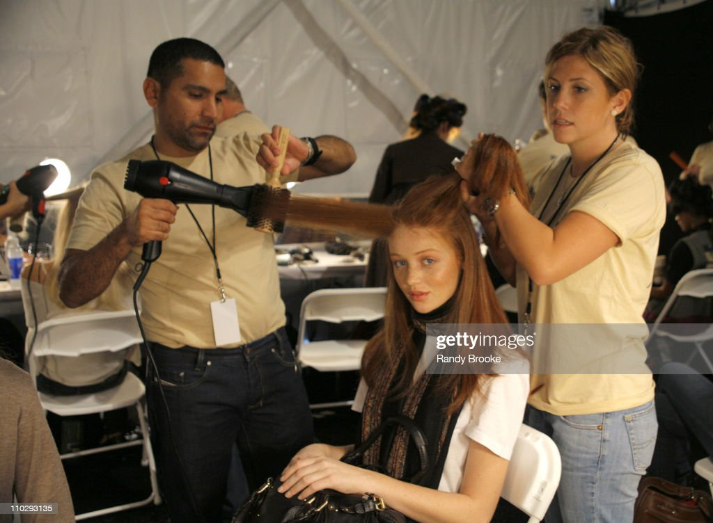 Olympus Fashion Week Spring 2007 - Academy of Art University - Backstage