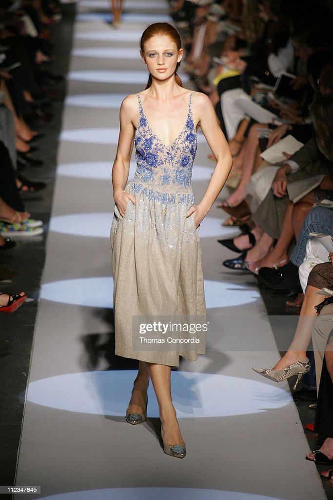 Olympus Fashion Week Spring 2006 - Badgley Mischka - Runway