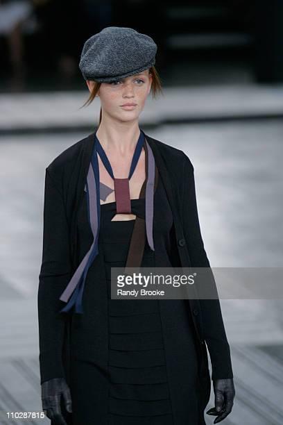 Cintia Dicker wearing Patachou by Tereza Santos Fall/Winter 2006
