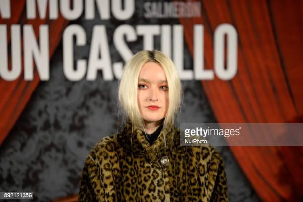Cintia Lund attend 'Muchos hijos un mono y un castillo' premiere at Callao Cinema in Madrid on 13th December 2017