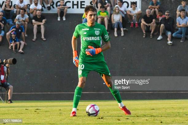Ciprian Tatarusanu of Nantes during the Friendly match between Marseille and Nantes on July 18 2018 in La RochesurYon France of Marseille