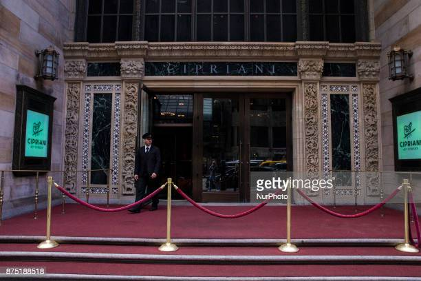 Cipriani in downtown of Manhattan in New York United States on October 11 2017