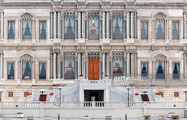 ciragan palace / istanbul turkey - palace stock pictures, royalty-free photos & images