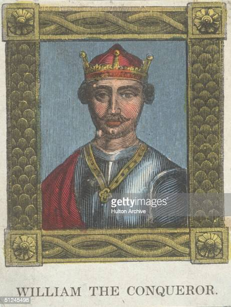 Circa 1070 William the Conqueror Duke of Normandy who claimed and won the English crown after defeating Harold Godwin Earl of Wessex at the Battle of...