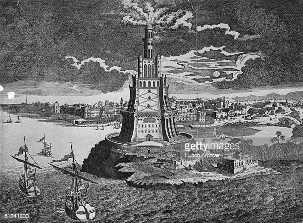 Circa 1200 The great classical lighthouse at Pharos guided ships into the port of Alexandria until it fell during an earthquake in the thirteenth...