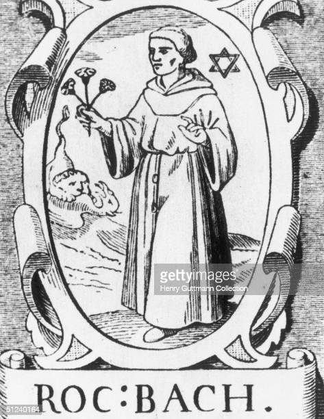 Circa 1250 English scientist Franciscan friar and philosopher Roger Bacon also known as Doctor Mirabilis He wrote his Opus Majus which called for...