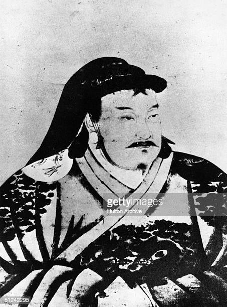 Circa 1260 Kublai Khan Mongol Emperor of China and grandson of Genghis Khan Marco Polo spent twenty years at his court He moved the capital of China...