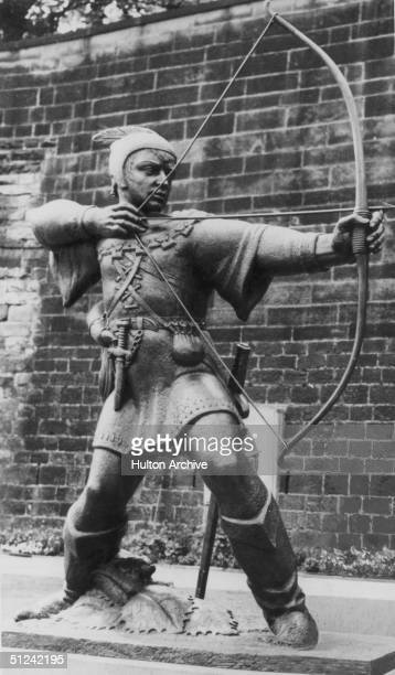 Circa 1400 The legendary hero and outlaw of medieval England Robin Hood He robbed the rich to help the poor