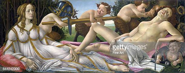 Circa 1483 tempera on panel 69 x 173 cm National Gallery London England