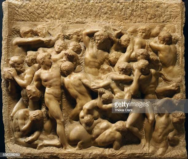 Circa 1492 Marble 845 x 905 cm Casa Buonarroti Florence Italy