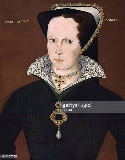 Circa 1555 Oil on panel 22 1/2 x 17 3/4 inches Located in the National Portrait Gallery London England UK
