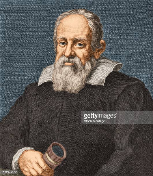Circa 1610, Italian physicist, mathematician and astronomer Galileo .