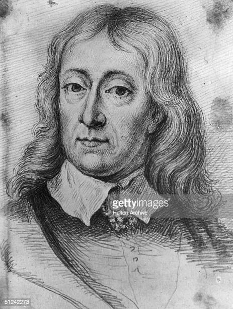 Circa 1670 English poet John Milton the author of Paradise Lost and Paradise Regained he also wrote Areopagitica a pamphlet which argued for the...