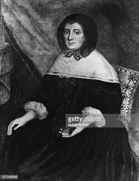 Circa 1680 Francoise D'Aubigne also known as Marquise de Maintenon wife of Louis XIV