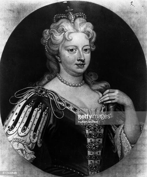 Circa 1720, Caroline of Ansbach , Queen Caroline, wife of George II of England and Ireland. She gathered a distinguished circle at court including...
