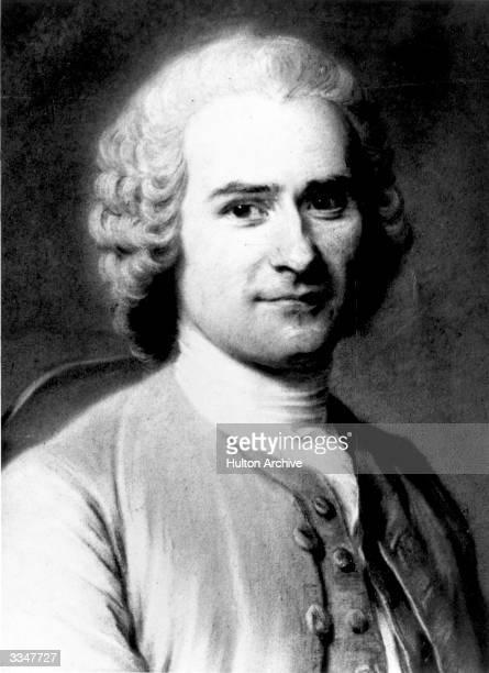 Swissborn French philosopher JeanJacques Rousseau Original Artwork Painting by Latour